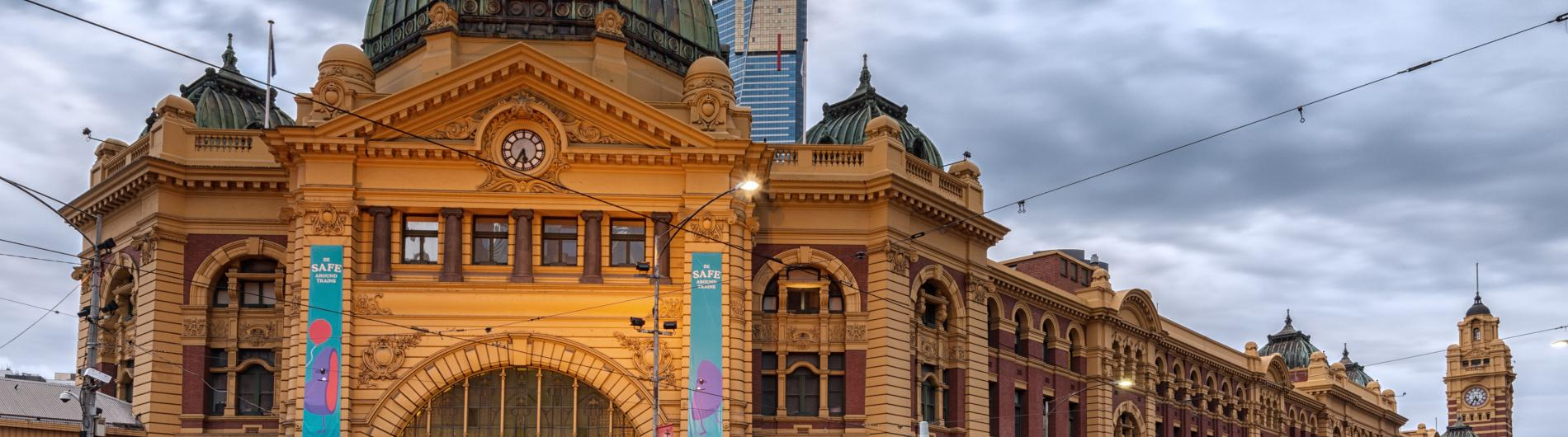 Flinders Street Station (ISO100 Photography)