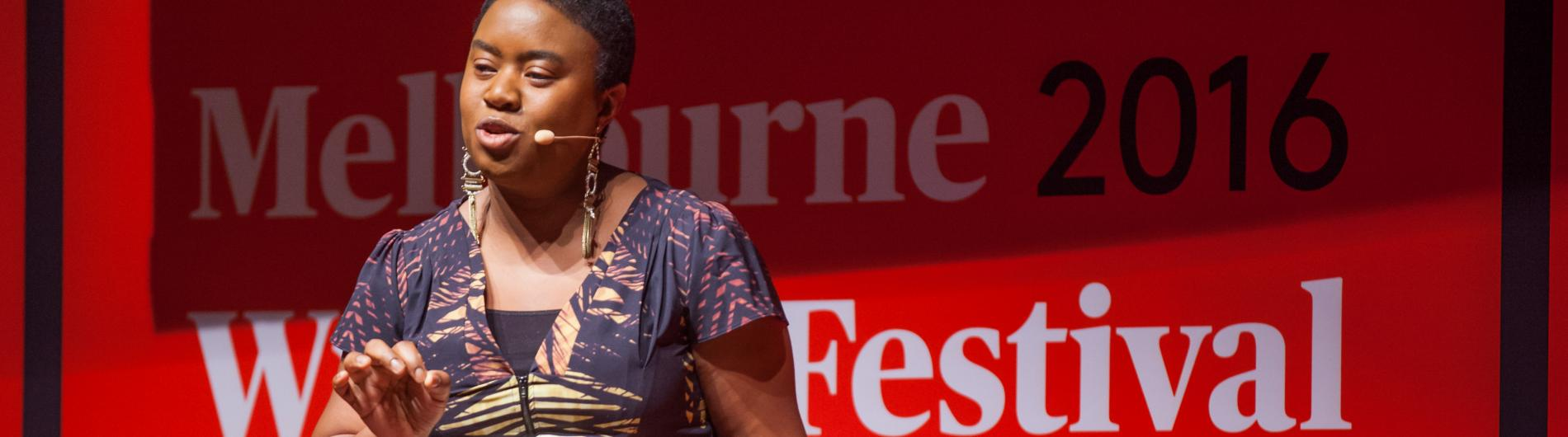 Maxine Beneba-Clarke at Melbourne Writers Festival