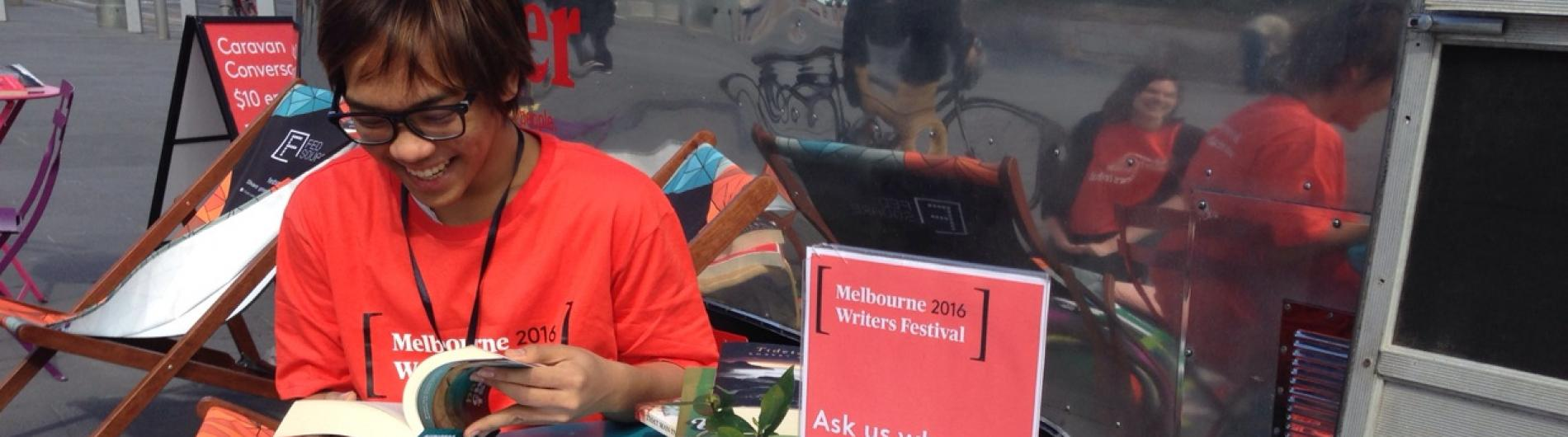 Caravan Conversations at Melbourne Writers Festival