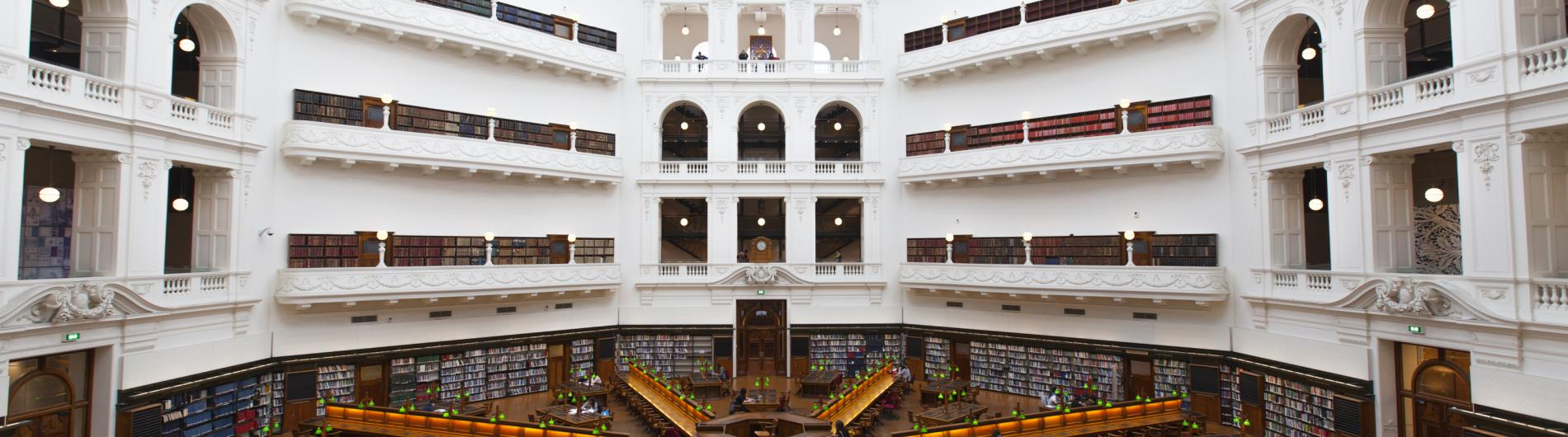 Latrobe Reading Room and State Library of Victoria